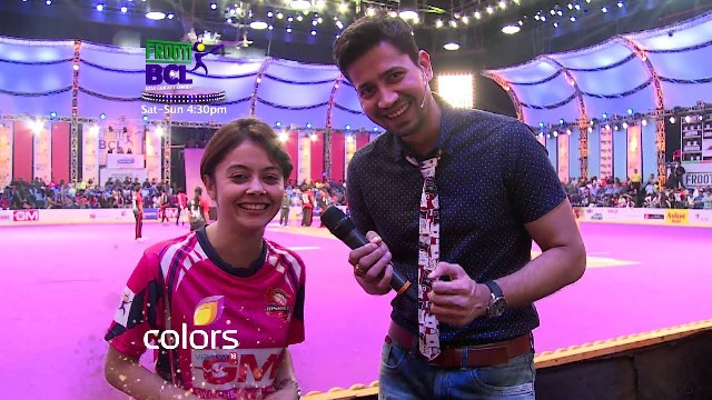 Devoleena Bhattacharjee in Box Cricket League