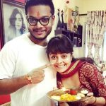 Devoleena Bhattacharjee with her brother