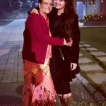Devoleena Bhattacharjee with her mother