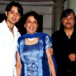 Dhruv Bhandari with his parents