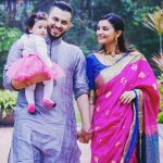 Dimpy Ganguli with her husband Rohit Roy and daughter Reanna
