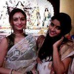 Dimpy Ganguli with her sister Koel Ganguly