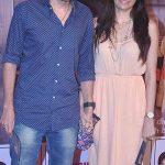 Divyendu Sharma with his wife