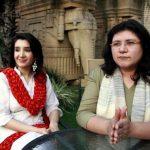 Haniya Aslam with cousin Zeb