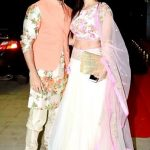 Hussain Kuwajerwala with his wife Tina Kuwajerwala