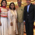 Isha Talwar with her family