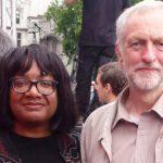 Jeremy Corbyn with Diane Abbott