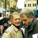 Jeremy Corbyn with his 2nd Wife Claudia Bracchitta