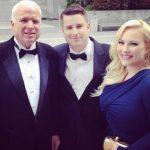John McCain son James, center, and daughter Meghan