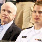 John and John Sydney McCain IV