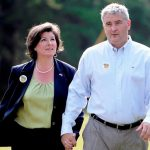 Karen Handel with her husband