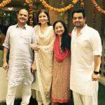 Karnesh Sharma with his family