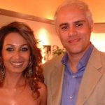 Kashmira Shah with her ex-husband Brad Listermann