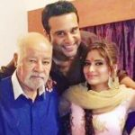 Krishna Abhishek with his father and sister