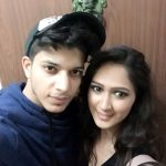 Krissann Baretto with Adhish Khanna