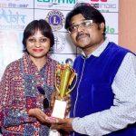 Manoj Pandit with his wife Anita Pandit