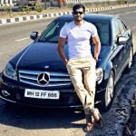 Mrunal Jain with his car