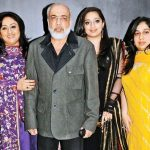 Nidhi Dutta with her family