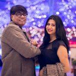 Parineeta Borthakur with her husband