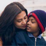 Parineeta Borthakur with her son
