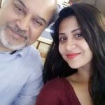 Parineeta with her father