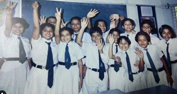 Plabita Borthakur in her school days