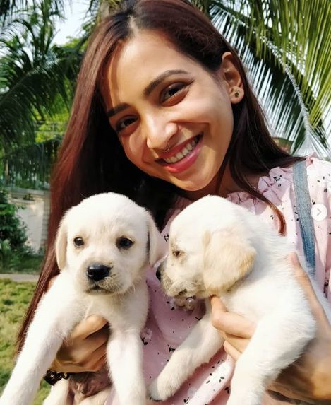 Plabita Borthakur loves dogs
