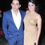 Pooja Gor with Raj Singh Arora