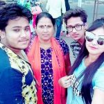 Priyanka Pandit with her family