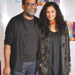 R Balki with wife Gauri Shinde