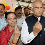 Ram Nath Kovind with his wife