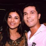 Randeep Hooda With His Ex-Girlfriend Sushmita Sen
