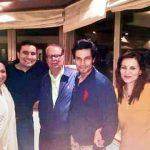 Randeep Hooda With His Family