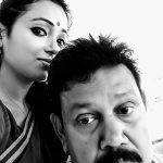 Reshita Baruah with her father