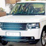 Riteish Deshmukh Inside His Range Rover