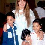 Ritu Shivpuri with her children