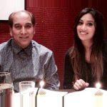 Sabina Sheema with her father