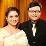 Sachin with his wife Supriya Pilgaonkar