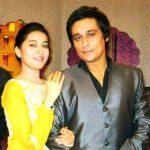 Sahir Lodhi with his sister
