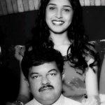Sanskruti Balgude with her father Sanjay Digambar Balgude