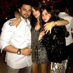 Seema Khan with her brother & sister