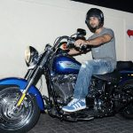 Shahid Kapoor Riding Harley Davidson Fat Boy