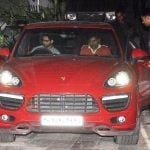 Shahid Kapoor In His Car Porsche Cayenne GTS