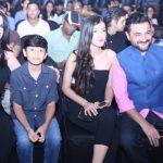 Shanaya Kapoor with her family