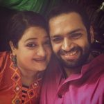 Sharib Hashmi with his wife