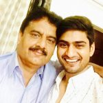Singer Amit Mishra with his father