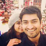 Singer Amit Mishra with his girlfriend