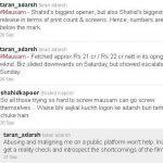 Taran Adarsh Shahid Kapoor Twitter controversy