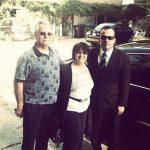 Travis Kalanick parents Bonnie Kalanick (center), Donald Edward Kalanick (left)