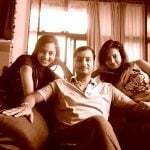 Vidisha Srivastava with her Brother Gaurav & sister Shanvi
